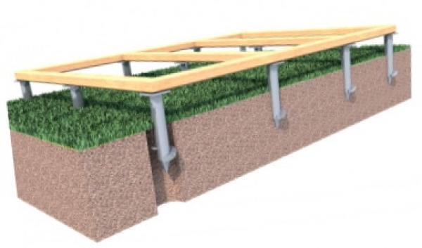 Как построить свайно-винтовой фундамент