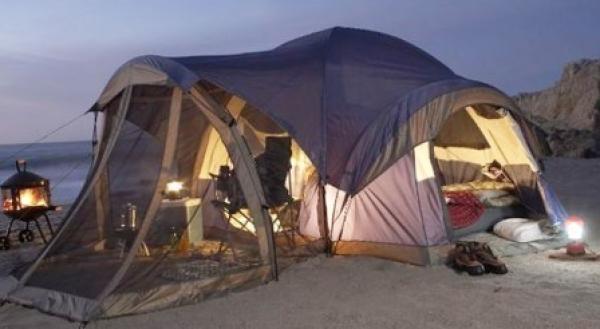 Виды палаток и тип отдыха
