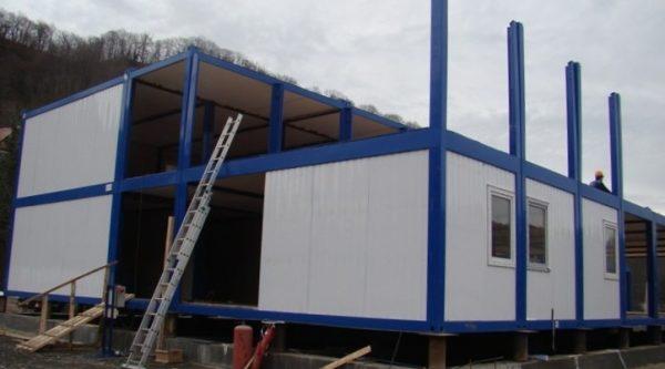 Преимущества и сферы применения быстровозводимых модульных зданий