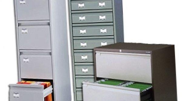 Разновидности металлических шкафов для картотек, их особенности и использование