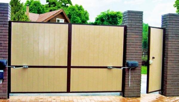 Выбираем автоматические ворота: какие ворота лучше – секционные, откатные или распашные