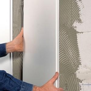 Отделка ванной комнаты стеновыми панелями из ПВХ своими руками