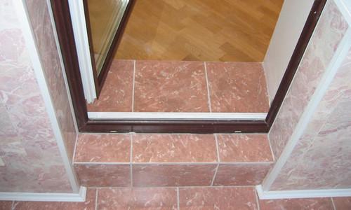 Как сделать порог на балкон (фото и видео)