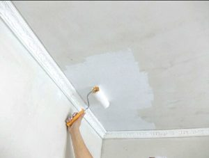 Виды водоэмульсионных красок для потолка