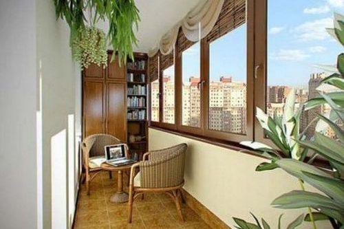 Материалы для внутренней отделки балконов и лоджий, облицовка