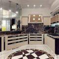 Кухня в стиле арт-деко: фото в интерьере, декор, дизайн