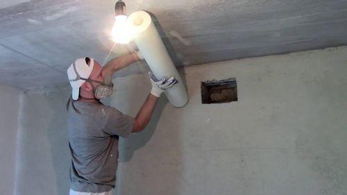 Как клеить стеклохолст на потолок из гипсокартона под покраску