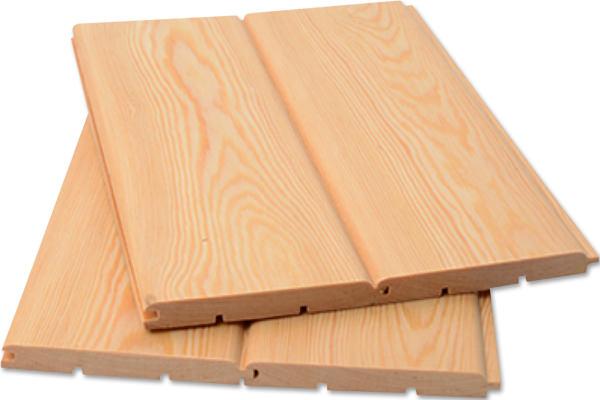 Отделка поверхностей деревянной вагонкой