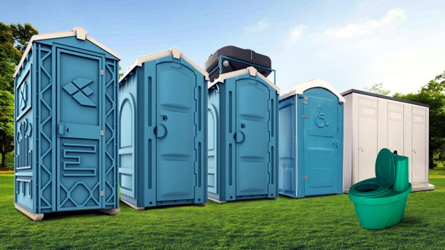 Аренда туалетных кабин на стройку