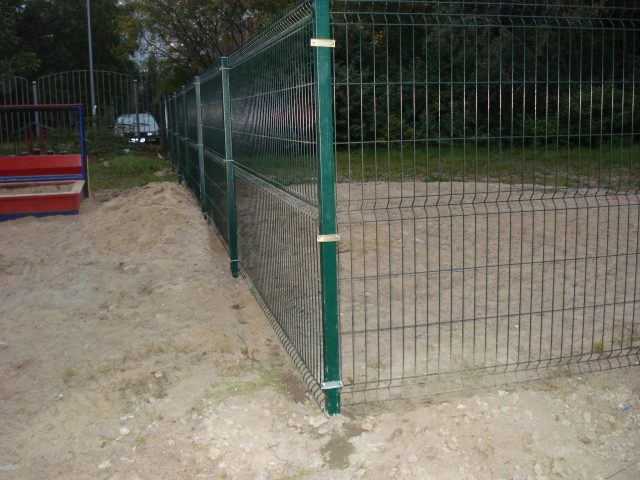 забор гиттера