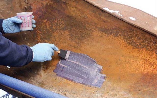 Как покрасить металл по ржавчине