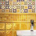 Как сочетаются разноцветные керамические плитки в домашнем дизайне