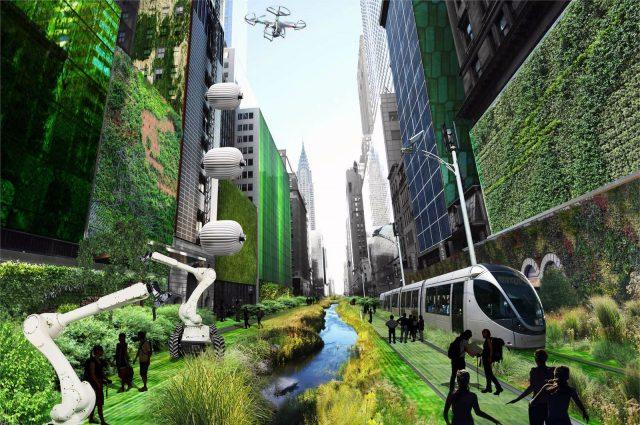 Узнайте 10 технических направлений, которые изменят наши города
