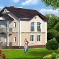 Как построить двухэтажный дом, площадью 19 кв.м