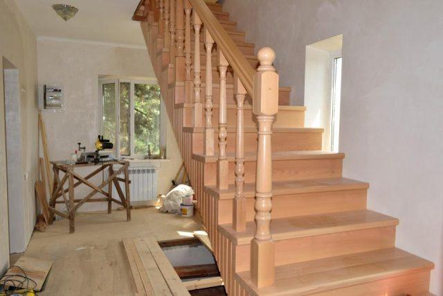 типы деревянных лестниц