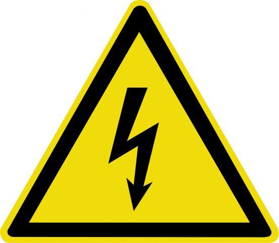 зоны электрической опасности