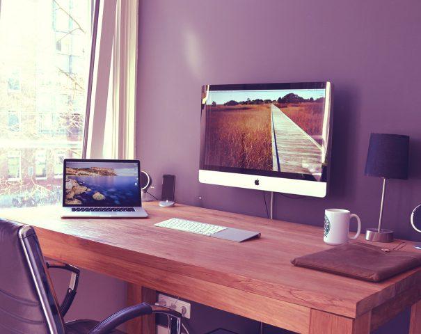 Как обустроить рабочее место дома?
