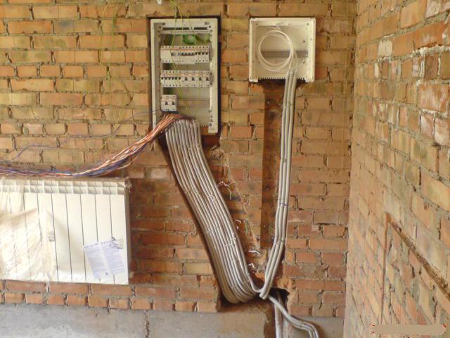 Частный дом: электропроводка