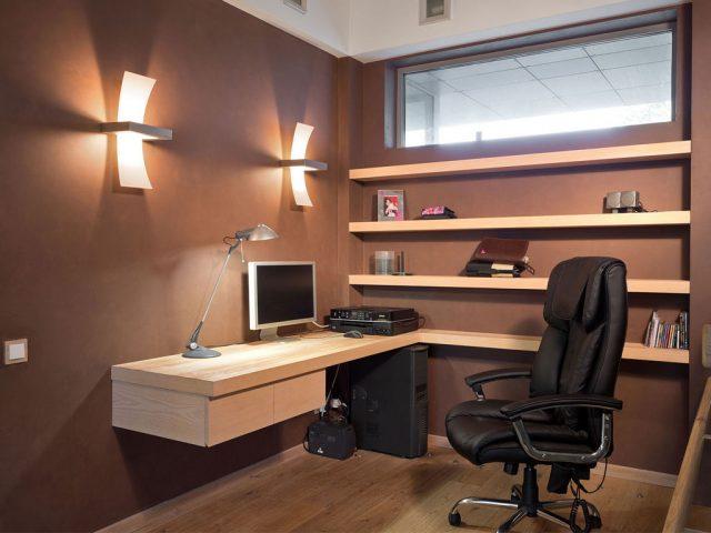 Кабинет для дома или зона рабочего пространства