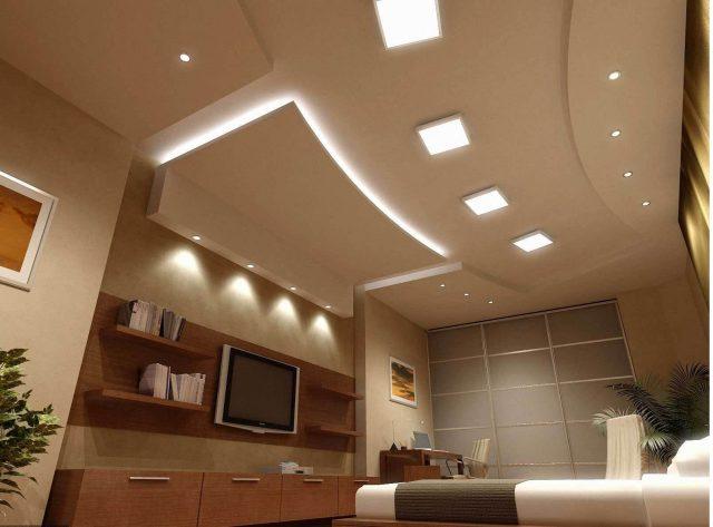 Как сделать многоуровневый потолок?