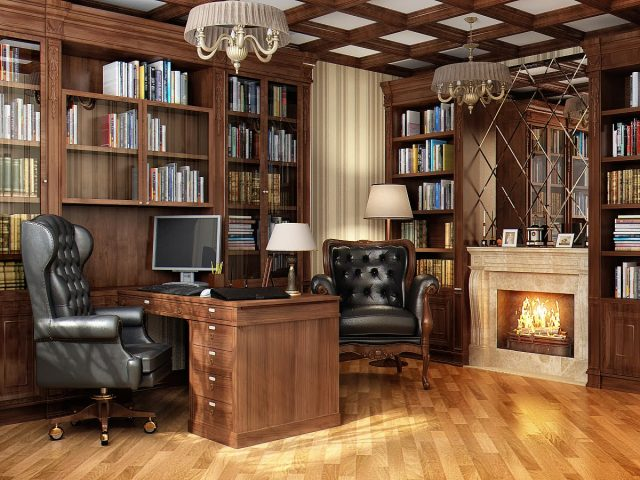 Обустройство кабинета - читайте в нашей статье