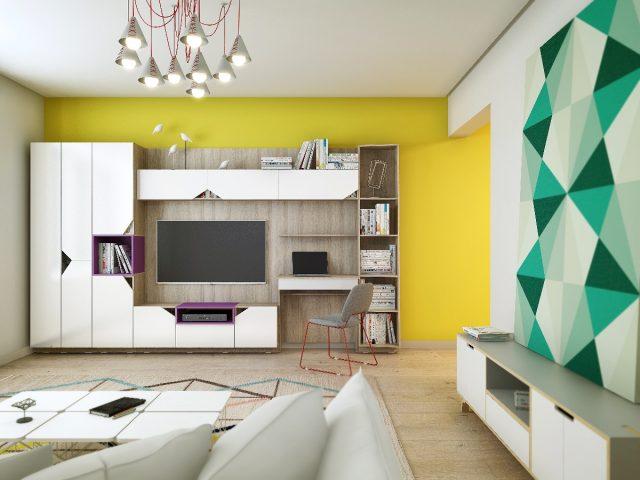 Увеличиваем пространство гостиной