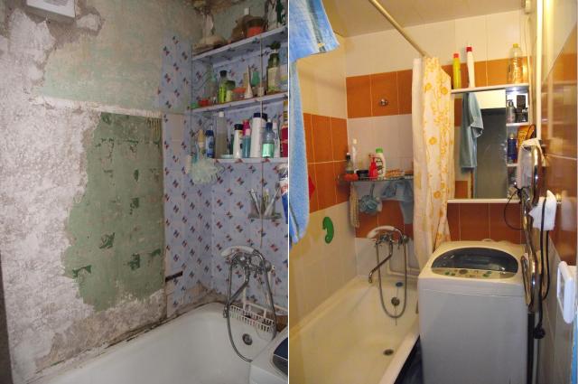 Косметический ремонт в ванной комнате своими руками