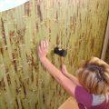Поклейка бамбуковых обоев. Виды бамбуковых обоев