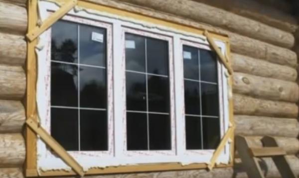 Пластиковые окна в деревянном доме: вставляем самостоятельно