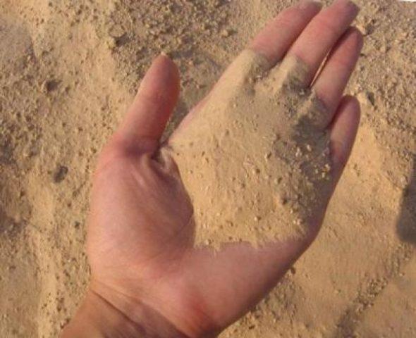 Разновидности и классы строительного песка