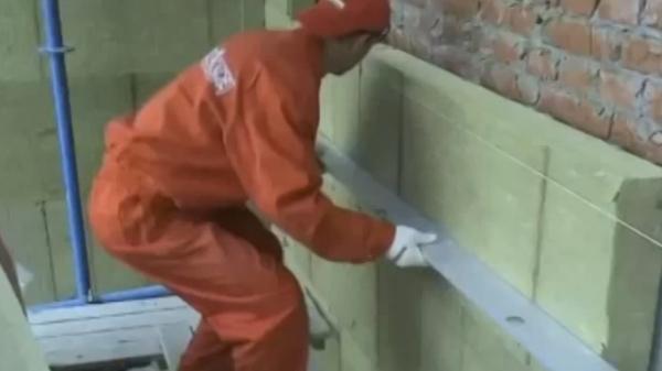 Технология утепления дома минеральной ватой под фасадную штукатурку