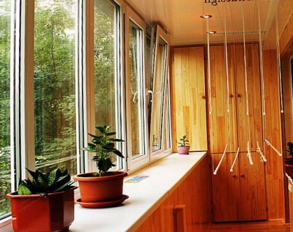 Отделайте свой балкон идеально! Создайте в нем атмосферу тепла и уюта!