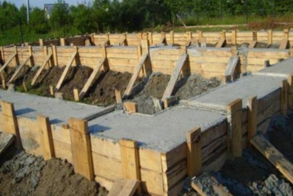 Расчет объема бетона для фундамента