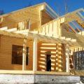 Поэтапное строительство домов из бруса