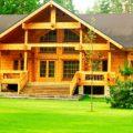 Деревянный дом: плюсы от природы