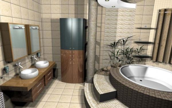 Выбор мебели для ванной и его особенности