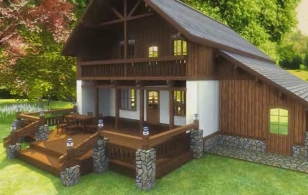 Какой фасадный декор выбрать для своего загородного дома