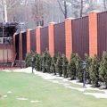 Забор из профнастила – отличное решение для ограждения