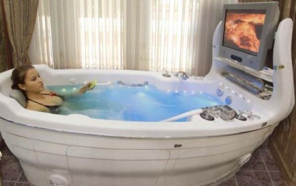 Выбор гидромассажных ванн