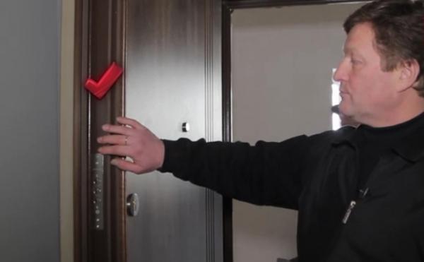 Все этапы установки входной двери