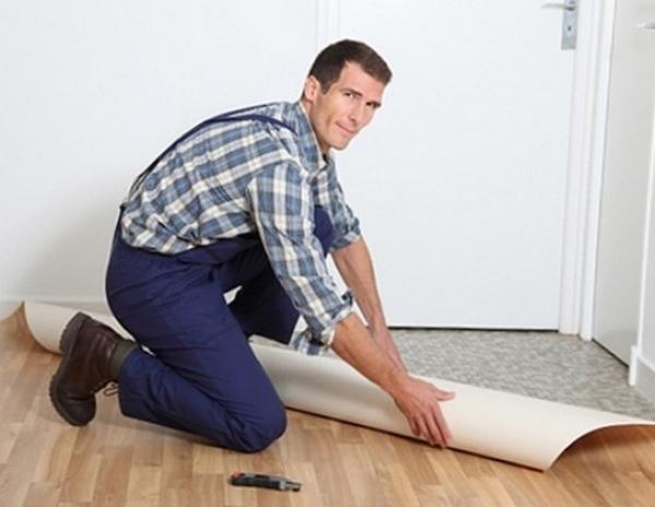 Советы по выбору линолеума в дом