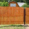 Деревянные заборы и ограждения для дачного участка