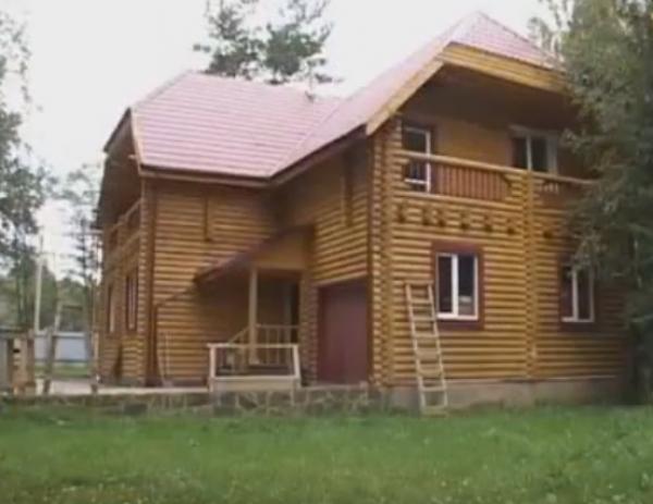 Принципы строительства домов из оцилиндрованного бревна