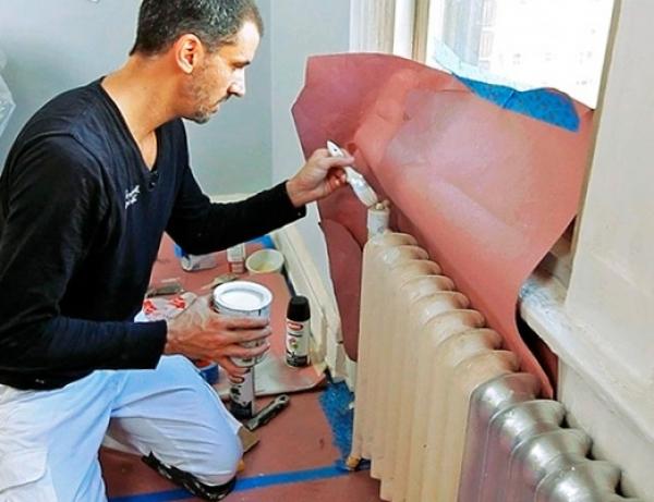 Самостоятельная покраска батарей отопления: практические советы