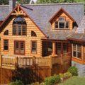 Природные преимущества домов из бруса