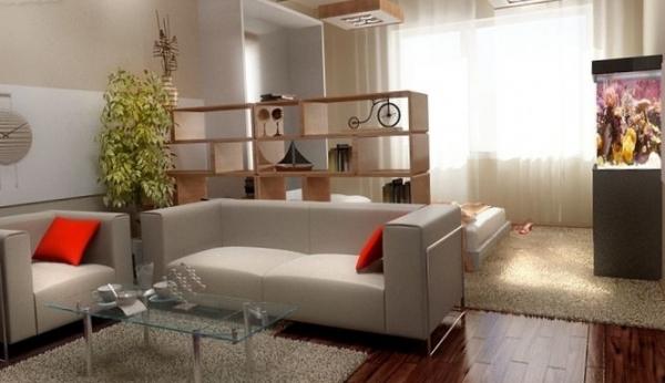 Как обустроить комнату для семьи из 3х человек, если Ваша квартира – однокомнатная