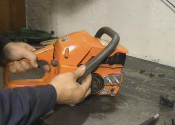 Самостоятельный ремонт бензопилы: основные элементы механизма, выявление поломок и их устранение