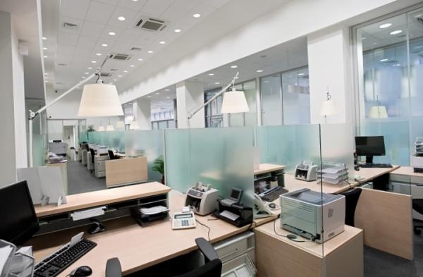 Офис в стиле хай-тек