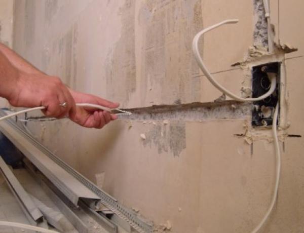 Этапы монтажа электропроводки своими руками