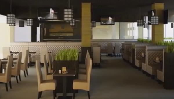 Виды отделки стен ресторанов и кафе